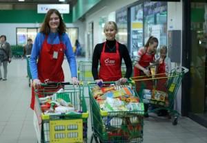 Toidupank korraldab regulaarselt toidukogumiskampaaniaid. Foto: Nele Hendrikson