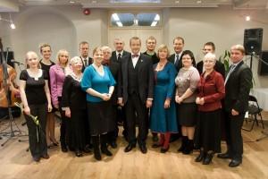 Aasta vabatahtlike tunnustamine 2012. aastal. Foto: Lauri Kulpsoo