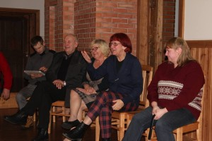 Külavanemate koosolek Avinurme vallas. Foto: Aare Hindremäe