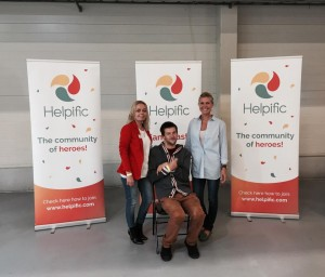 Pildil: Helpificu meeskond Keiu Roosimägi, Annika Amenberg, Tom Rüütel