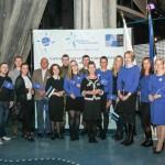 Eesti NATO Ühingu töötajad ja vabatahtlikud Lennusadamas NATO 65/10 üritusel