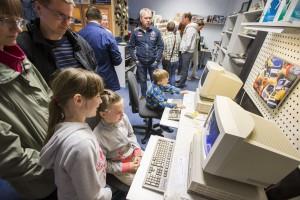 Muuseumiöö Arvutimuuseumis. Foto: Georg Kõrre, Postimees.